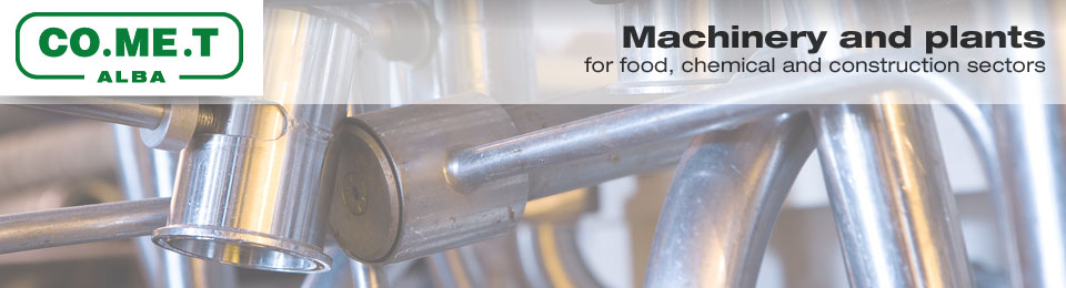 COMET - Machinery and plants for food, chemical and construction sectors