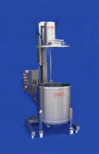 Custom made column mixer